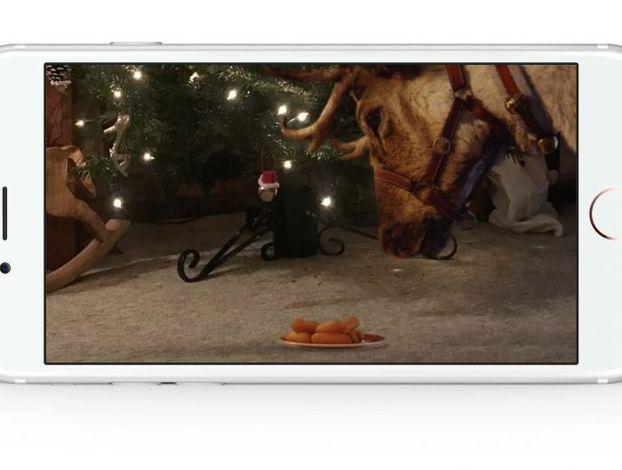 Санта-Клаус існує! Доведено McDonald's за допомогою AR-технології