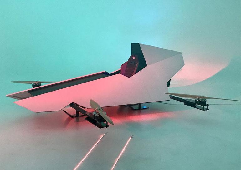 """Австралійські дизайнери створять """"Ferrari для неба"""" (Відео)"""