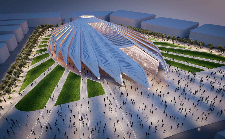 WOW-дизайн: неймовірний архітектурний проект у Арабських Еміратах