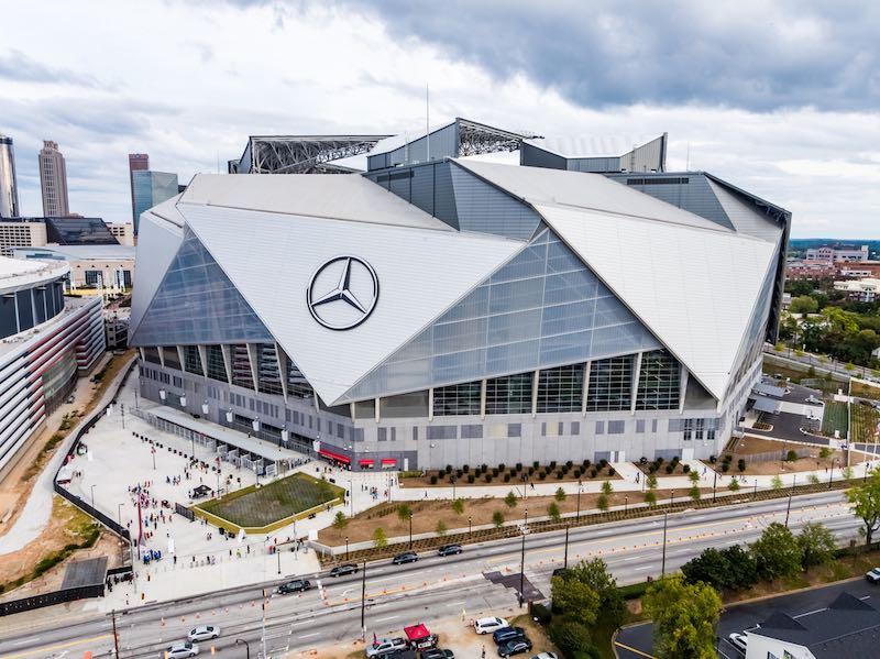 """Еко-дизайн: у США побудували """"найзеленіший"""" стадіон у світі"""