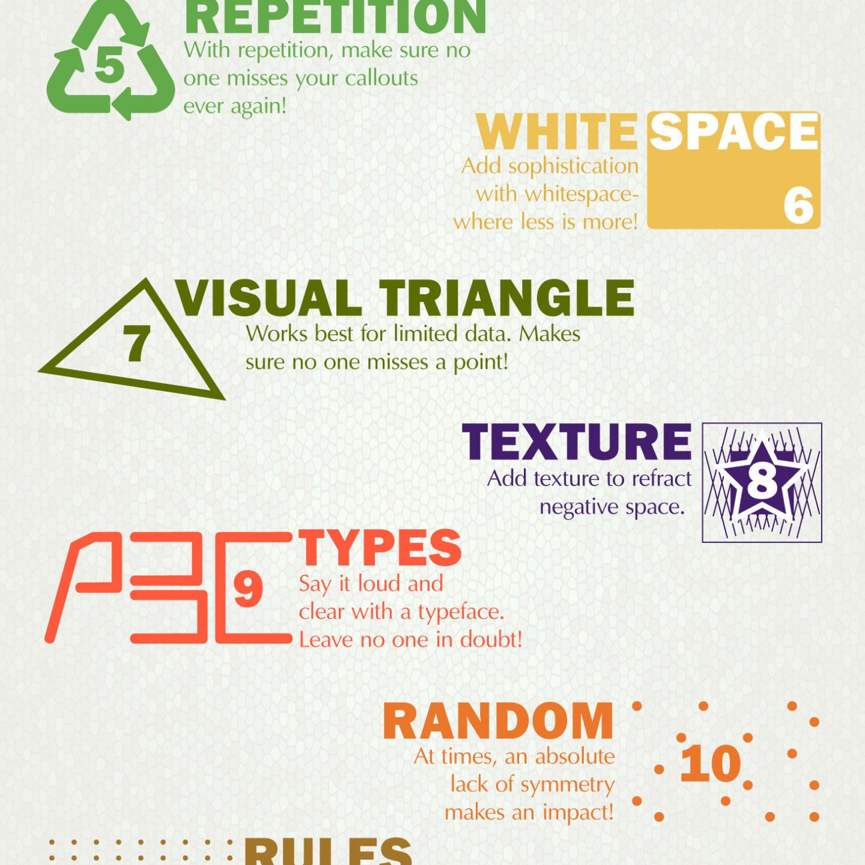 """15 """"Золотих Правил"""" візуальної ієрархії – для кожного дизайнера (ІНФОГРАФІКА)"""