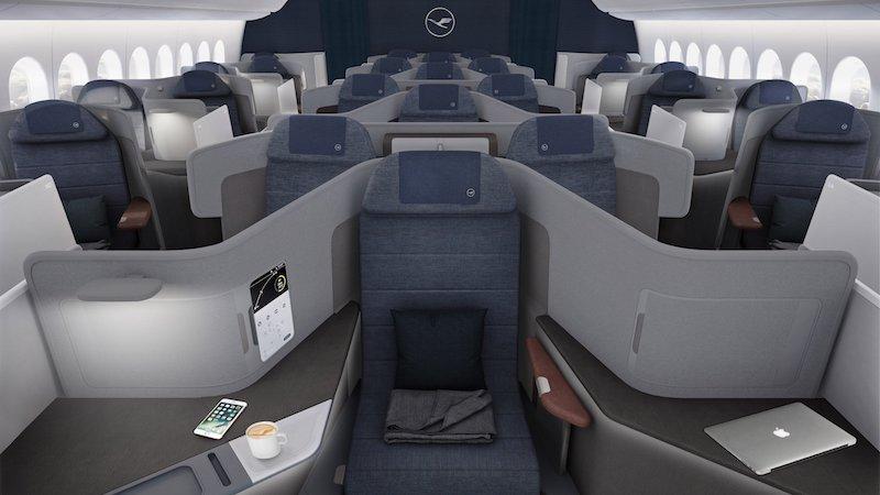 """Дизайн """"по-багатому"""": новий рівень комфорту для бізнес-перельотів від Lufthansa"""