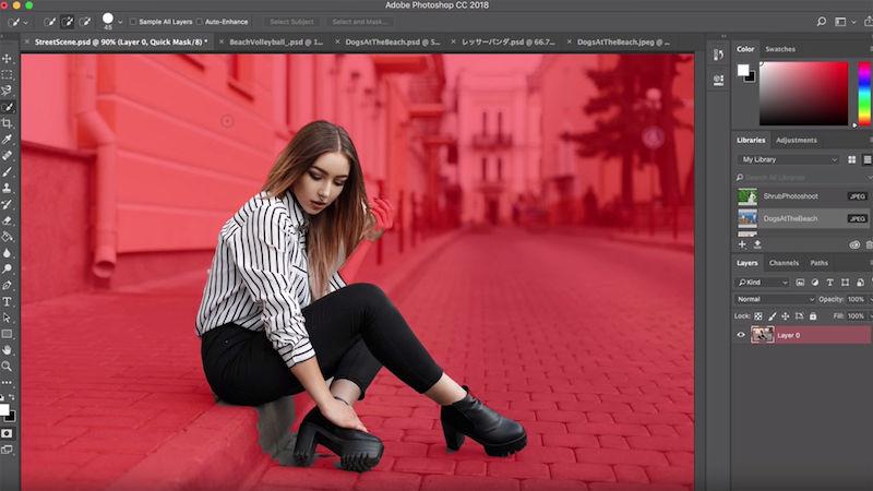 У Photoshop CC з'явиться вбивча фіча: виділення особи одним кліком