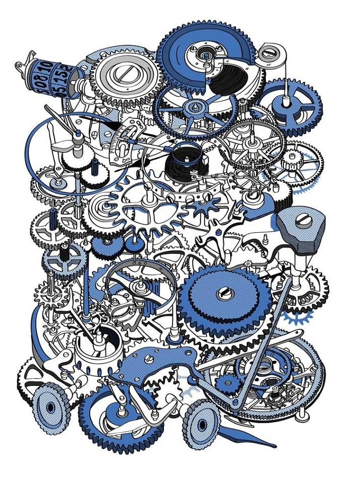 Дуже цікавий франко-японський ілюстратор