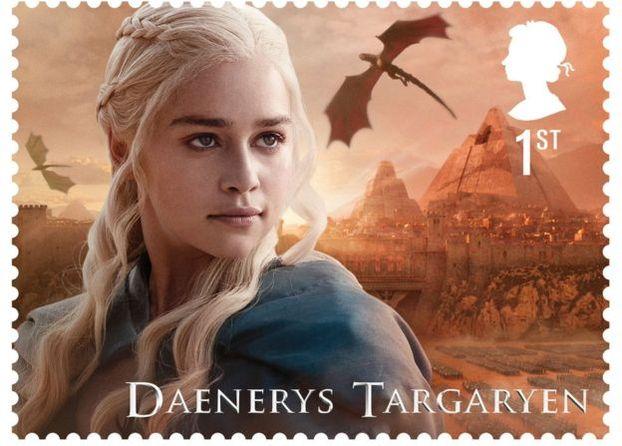 У Великобританії випустять марки з персонажами з «Ігри престолів» (Фото)