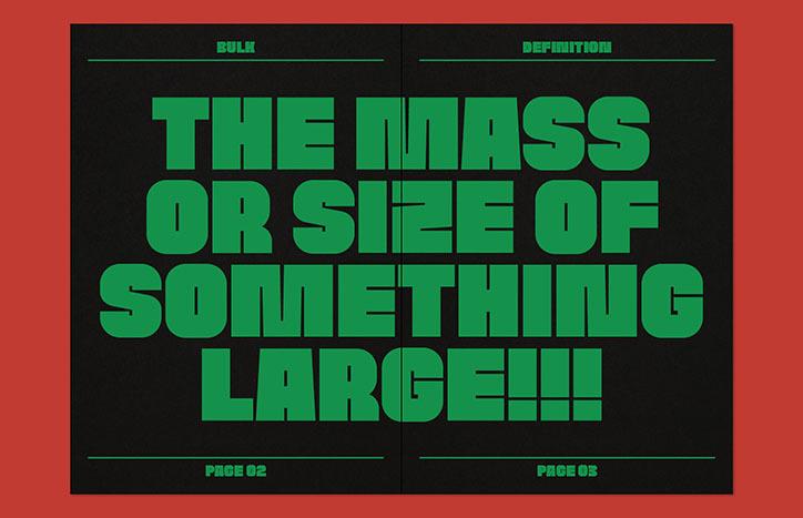 Ну ДУЖЕ жирний шрифт від дизайнера, який любить експериментувати
