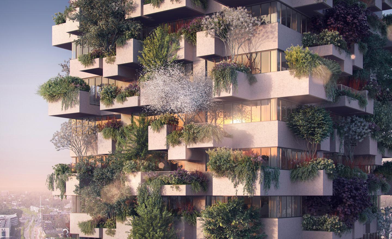 """""""Вертикальний ліс"""" для """"бідних"""": у Нідерландах вперше побудують унікальне соціальне житло"""