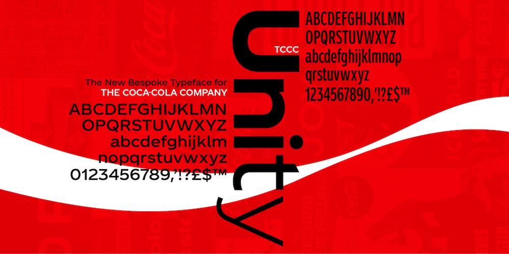 Coca-Cola представила свій ПЕРШИЙ універсальний фірмовий шрифт