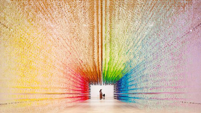 120 тис цифр: Концептуальна інсталяція, що показує плин часу (ФОТО)