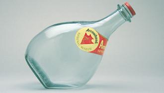 Arrowhead & Puritas дизайн пляшки