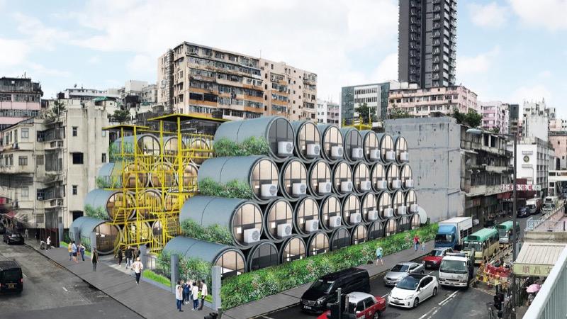 """Мікрожитло у бетонних трубках –це """"смарт-квартира"""" у Гонконгу (ВІДЕО)"""