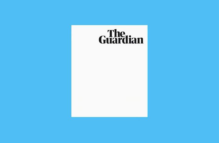 Редизайн The Guardian: новий формат і новий шрифт