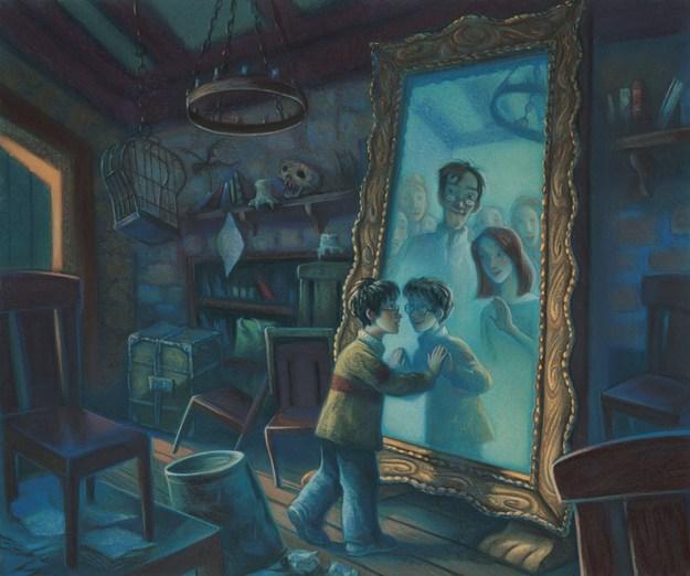 ЧУДОВІ але неопубліковані ілюстрації до історії Гаррі Поттера (Частина 1)
