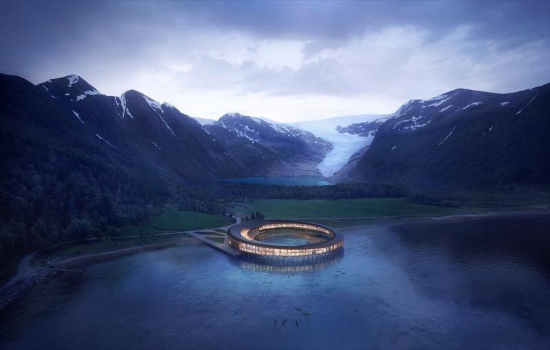 Енерго-позитивний дизайн: УНІКАЛЬНИЙ проект готелю для Полярного кола (ФОТО)