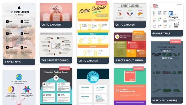 Безкоштовні інструменти для створення інфографіки (Частина 2)
