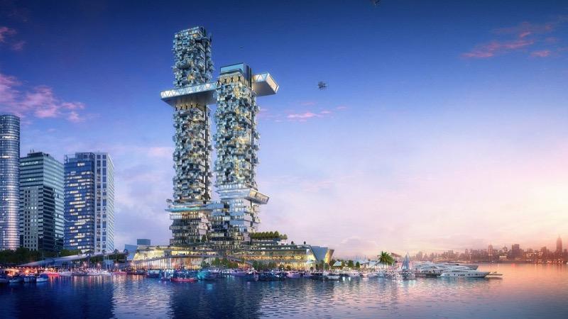 Дрони, Hyperloop і вертикальний ліс: дизайн будинку майбутнього у Манхеттені (ФОТО, ВІДЕО)