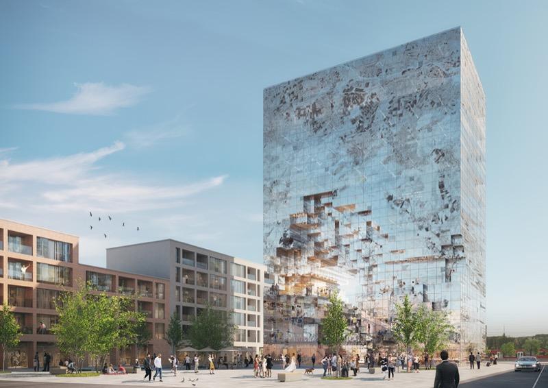 """ВРАЖАЮЧИЙ дизайн: """"пікселізований"""" будинок у Німеччині (ФОТО)"""