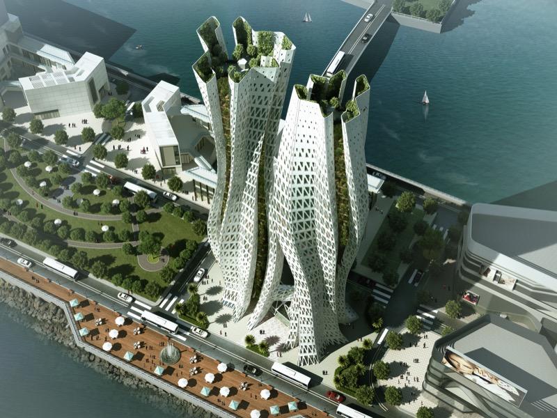 Дуже красиві хмарочоси: переможці інноваційного архітектурного конкурсу (ФОТО)
