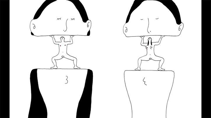 Японський motion дизайн: дуже дивне трактування кохання (ВІДЕО)