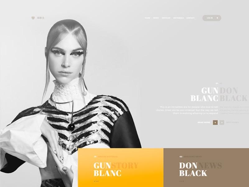 Як робити гарний веб-дизайн – приклад із Грузії