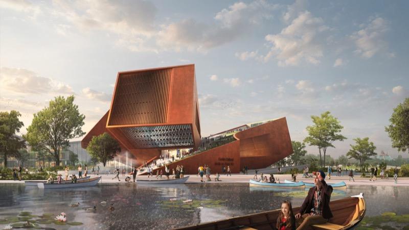 Неординарний дизайн кінотеатру на даху – у Парижі (ФОТО)