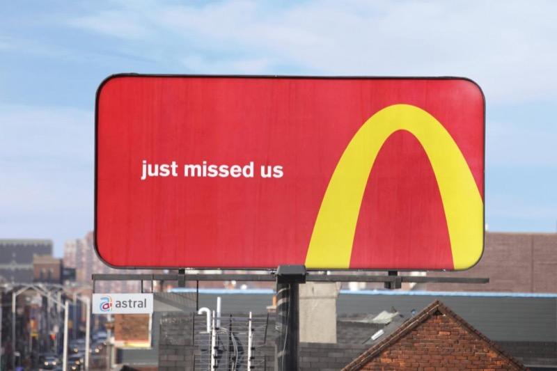 Як легендарне лого McDonald's змінює підхід до створення реклами (ФОТО, ВІДЕО)