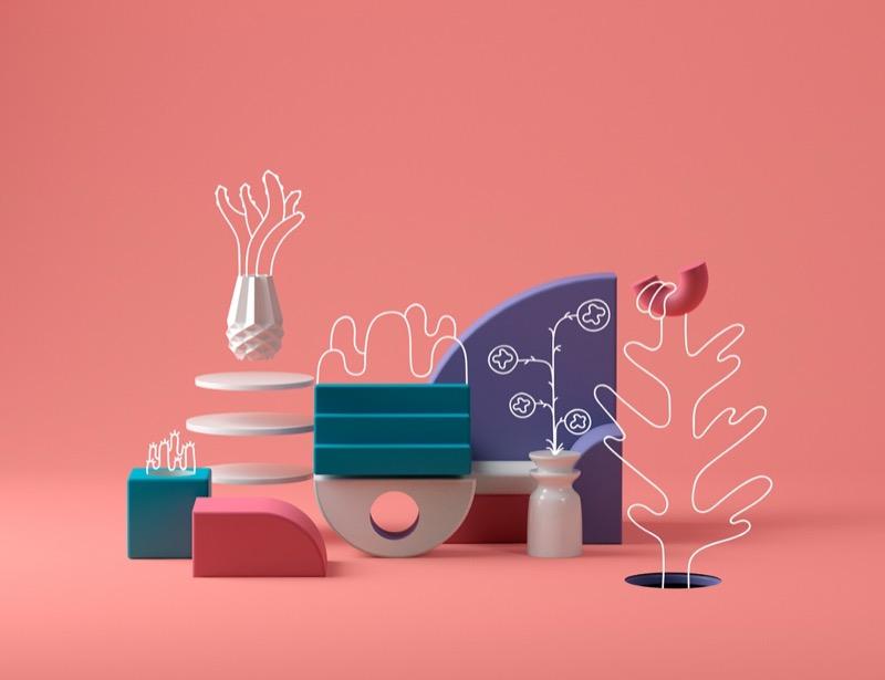 Підбірка класних дизайнів для натхнення. Весна 2018 (Частина 3)