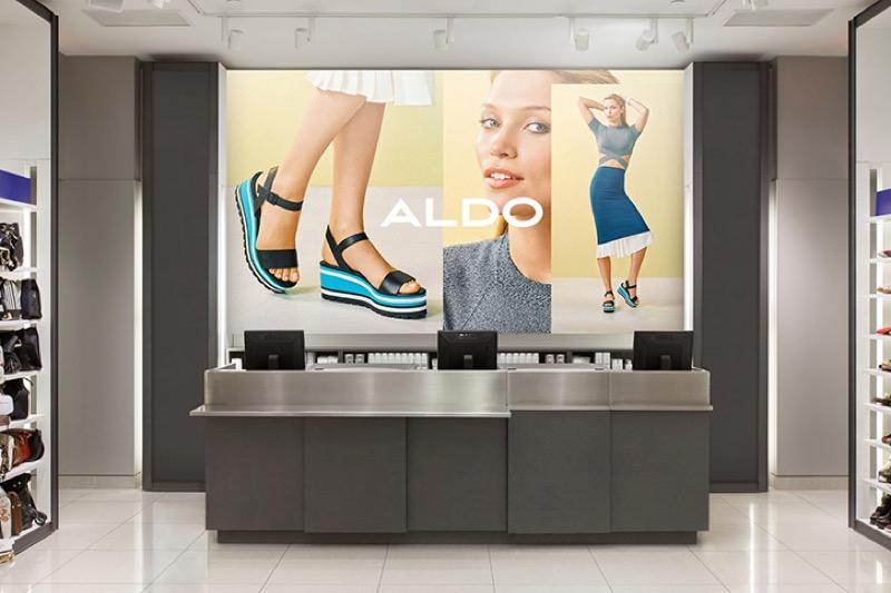 Бренд Aldo провів редизайн – жирний шрифт і без зайвих написів