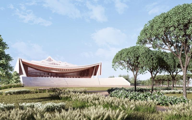 ДУЖЕ масштабний проект із надзвичайно цікавим дизайном – у Гані (ФОТО)