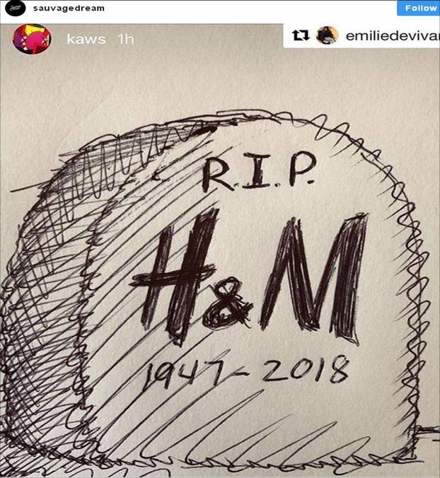 Як H&M судився із графіті-художником – через авторські права