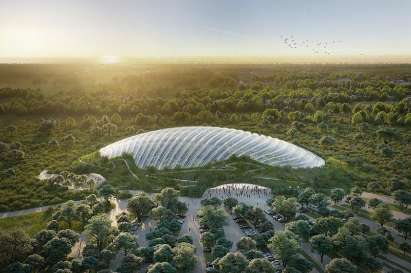 У Франції побудують НАЙБІЛЬШУ у світі тропічну оранжерею (ФОТО)