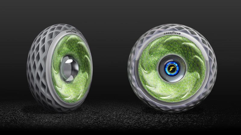 """Диво технологічного дизайну: """"живі"""" колеса від Goodyear"""