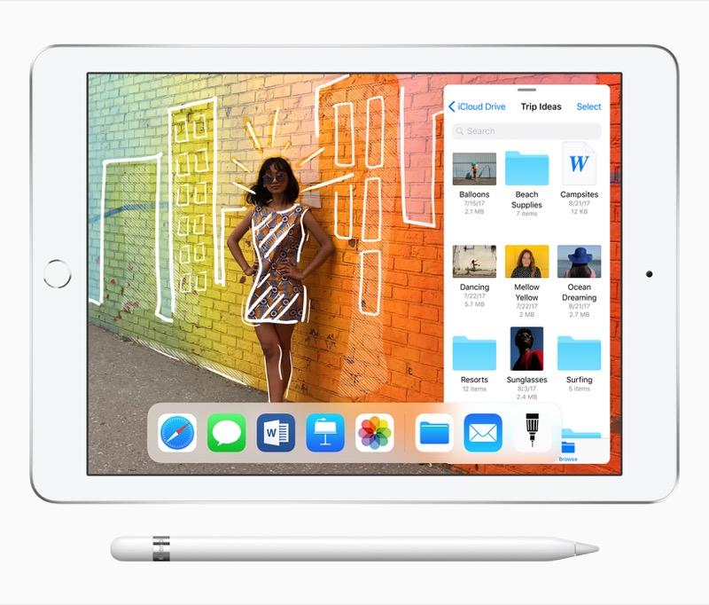 Рядова прем'єра: Apple представила новий 9,7 дюймовий iPad за $329 із підтримкою Apple Pencil за… $99