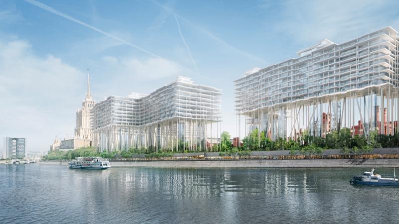 """Швейцарські архітектори зібралися побудувати """"горизонтальні хмарочоси"""" … у Москві!"""
