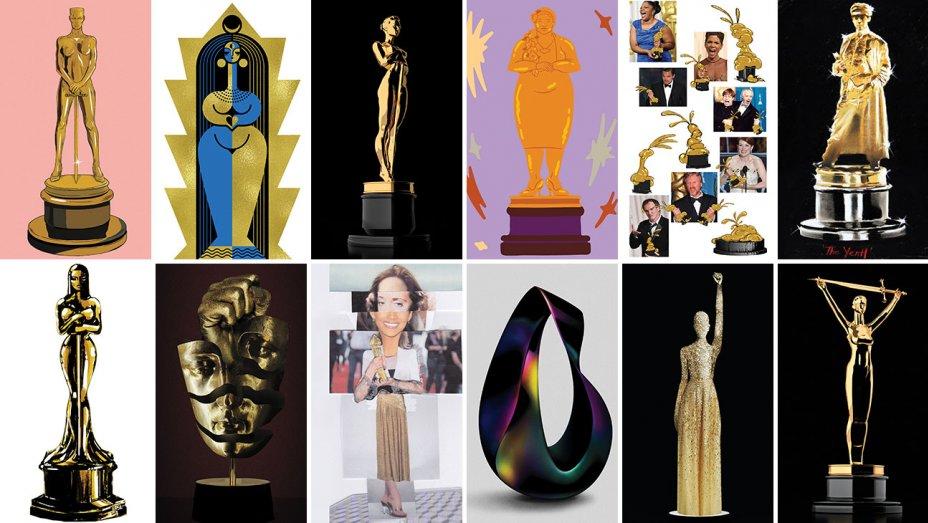 """Як би виглядав """"Оскар"""", якби він був жінкою? 12 ЦІКАВИХ версій (ФОТО)"""