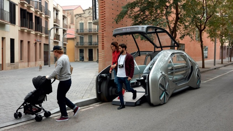 Renault EZ-GO: Фантастична спроба переосмислити UX авто від французів (ФОТО, ВІДЕО)