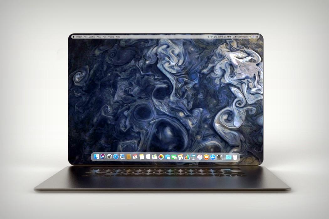 Безрамковий MacBook – радикальний концепт від італійського дизайнера (ФОТО)