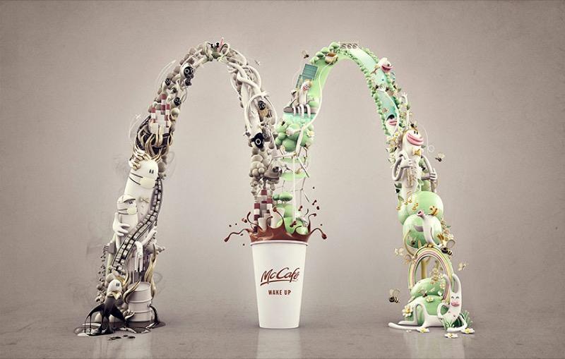 """Реклама """"пробудження"""" – дуже емоційні ілюстрації для McDonald's із Китаю"""