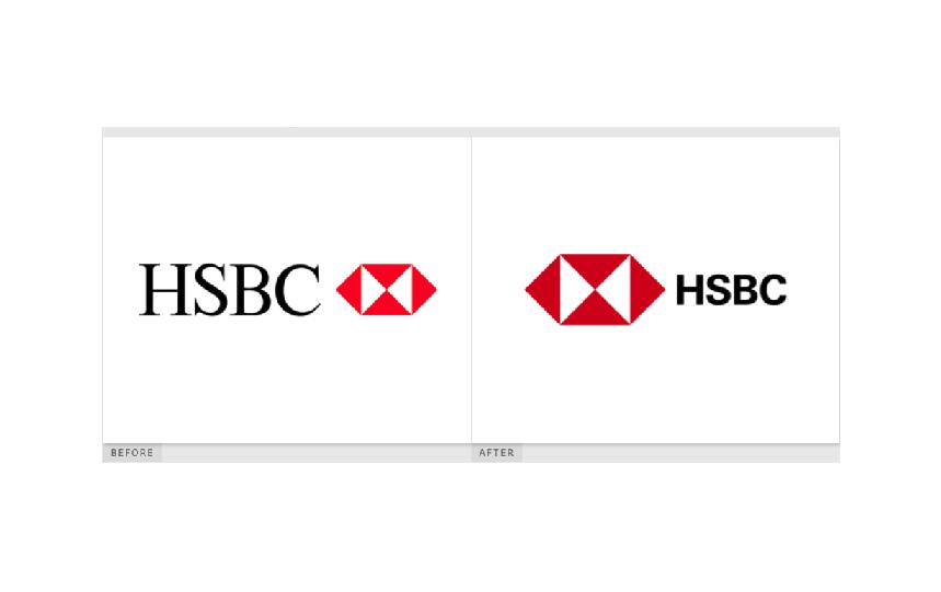 Черговий логотип позбувся засічок: ребрендинг HSBC – одного із найбільших у світі банків