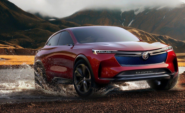 General Motors показала концепт Buick Enspire – із дуже оригінальною панеллю приладів (ФОТО)