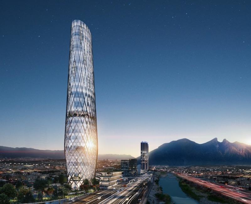 У Мексиці побудують неймовірно красивий хмарочос (ФОТО)