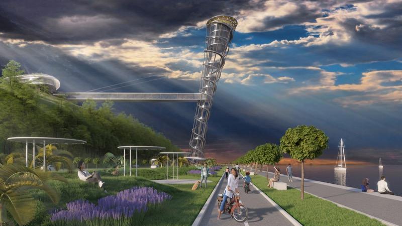 Похилена вежа, яка має стати новим архітектурним символом Словенії