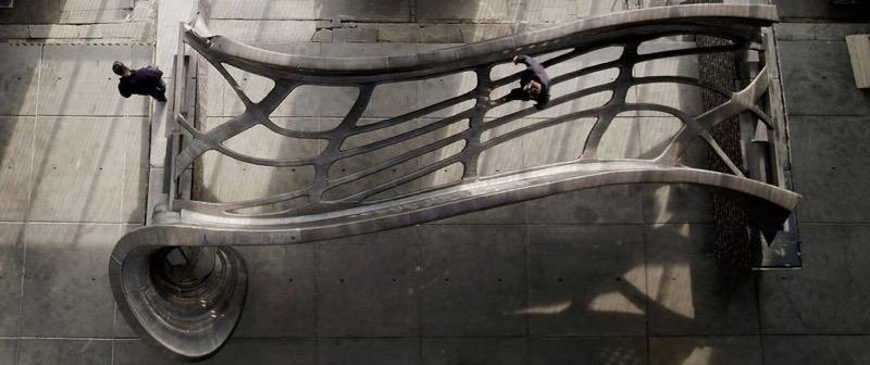 Космічний дизайн в Амстердамі: справжній 3D-міст із металу (ФОТО, ВІДЕО)