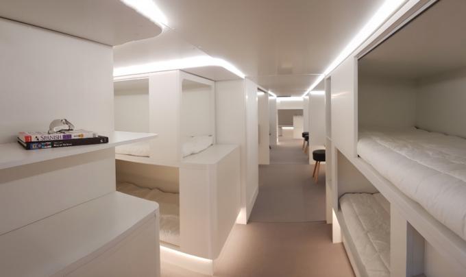 У 2020 році у літаках Airbus з'являться ліжка для пасажирів (ФОТО концепту)