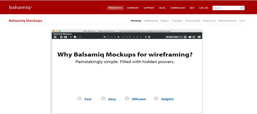 BalsamiqMockups