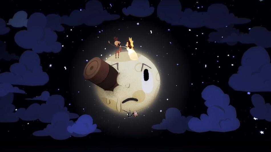 """Google випустила перший і дуже класний VR-дудл """"Back to the Moon"""" (ВІДЕО)"""
