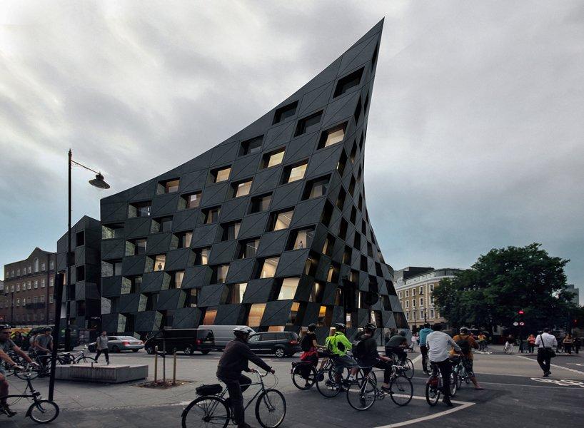 Shoreditch: готель із ДУЖЕ цікавою геометрією у Лондоні (ФОТО)
