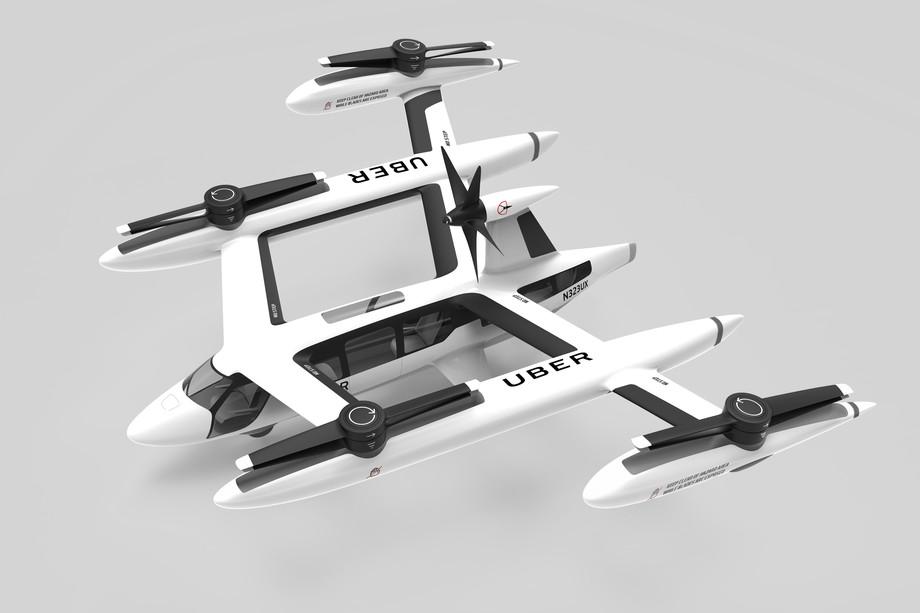 Uber показав дизайн свого летючого таксі – на таксі зовсім не схоже (ФОТО)