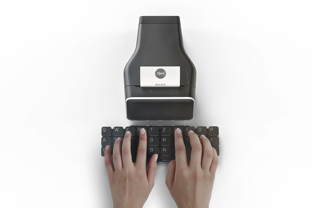Цікавий дизайн: переосмислена друкарська машинка Typer
