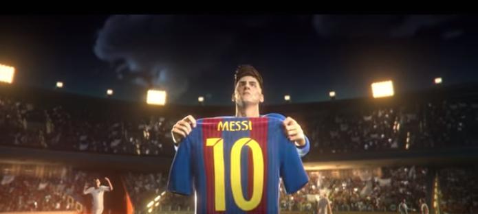 Цікава анімація про відомого футболіста Мессі (ВІДЕО)